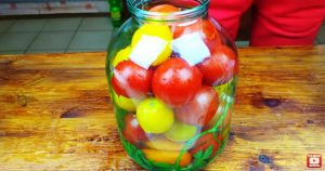 Квашеные помидоры, как бочковые на зиму