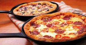 Пицца на сковороде: быстро и вкусно