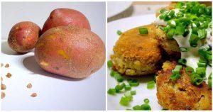 Стакан гречки и три картофелины. Вкусно, бюджетно и быстро!