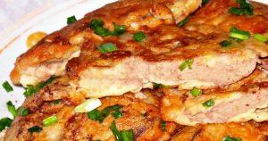 Нежнейшая куриная печень в сметанно-чесночном соусе. Отличное сочетание