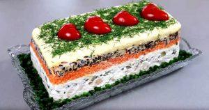 «Король стола» – очень необычный салат