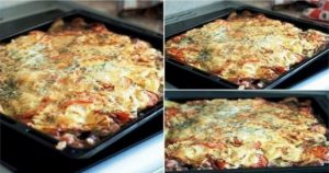 Мясо под шубой – сытное блюдо с картофельной шубкой