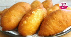 Пирожки с картошкой жареные на сковороде или в духовке