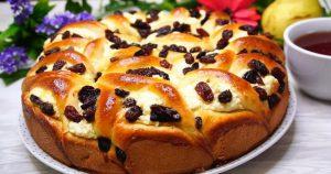 Пирог с творогом «Полный восторг»