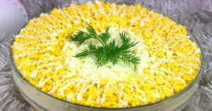 Обалденный салат «Белая ночь»