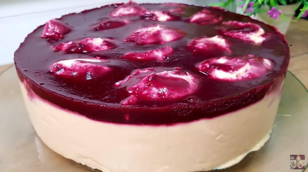 Творожный торт – суфле
