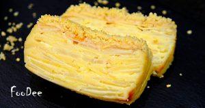 Классический французский пирог «невидимка» с яблоками и грушами