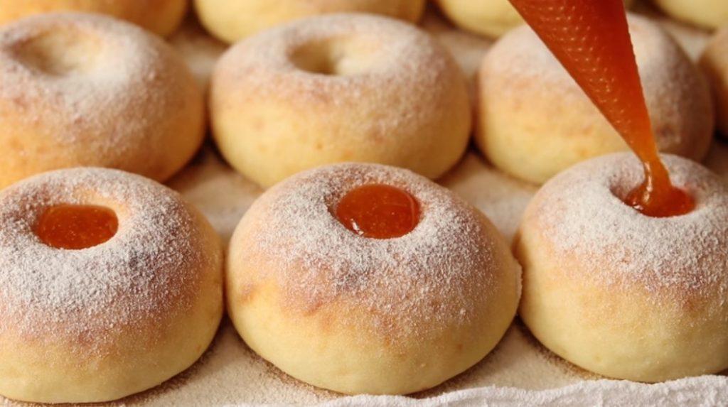 Пышные творожные пончики в духовке. Готовятся быстро без масла и дрожжей