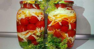 Старый бабушкин рецепт помидоров с капустой