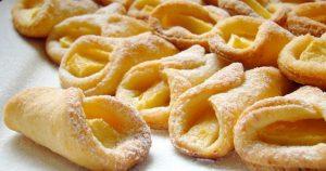 Низкокалорийные творожные печенья с яблоками. Без вреда для фигуры