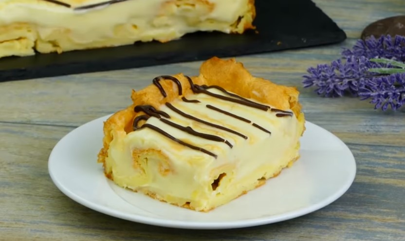 Рецепт вкусного торта с молочным кремом