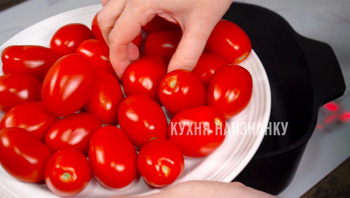 Жареные помидоры на зиму: каждый год закрываю на 2 банки больше, но до Нового года все равно не хватает (вкусно очень)