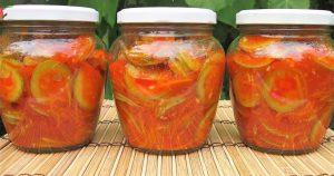 Новинка. Салат из кабачков на зиму