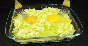 Кабачки и 2 яйца. Вкусный ужин из простых продуктов