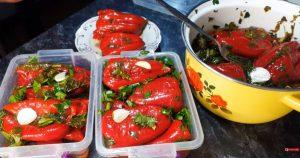 Маринованный красный перец! Заготовка на зиму