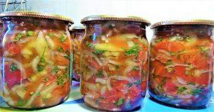 Салат на зиму без уксуса. Обалдено вкусный рецепт