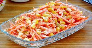 «Морковь по-французски» — рецепт салата, который удивляет своим вкусом и простотой