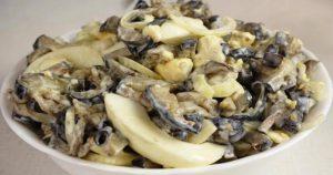 Салат из баклажанов со вкусом грибов