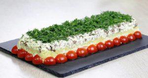 Новый авторский салат