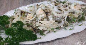 Салат без грамма мяса